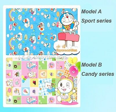 Baby Kids Floor Foam Crawl Mat Carpet Doraemon Playmat Blanket Rug 200*160*0.5cm
