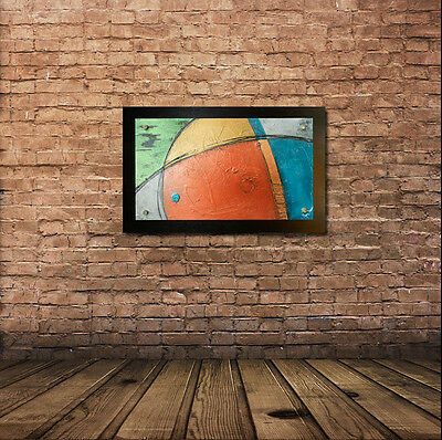 Sculpture ORIGINAL MODERN ABSTRACT ART LARGE CONTEMPORARY PAINTING Wood SAVARINO