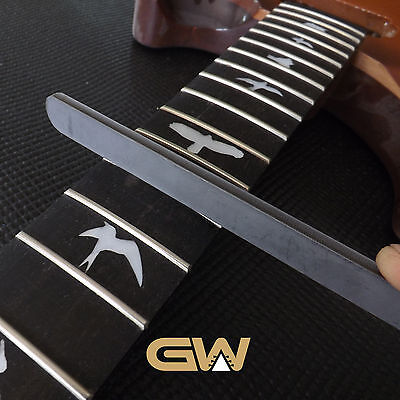 Guitar Fret File Crowning - Luthier