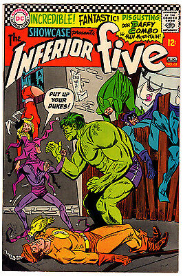 Showcase #63 7.0 Cream To Off-White Pages Silver Age Inferior Five Hulk