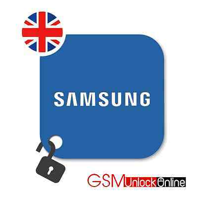 Unlock Code For UK EE Vodafone O2 Samsung Galaxy S6 EDGE + S5 Note 4 5 7 8 Edge