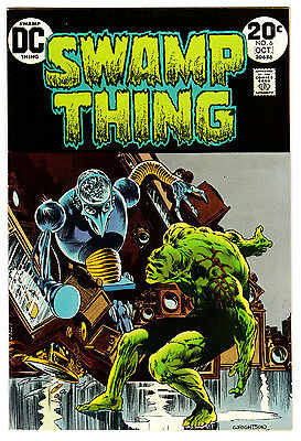 Swamp Thing #6 7.0 White Pages Bronze Age Wrightson