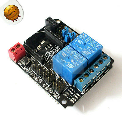 2 Channel Relay Shield Module -Arduino Compatible (With XBee/BTBee Interface)
