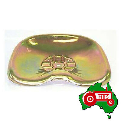 Tractor Metal Seat Pan Yellow Zinc Plated for David Brown Very Early Models