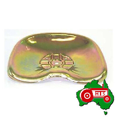 Tractor Metal Seat Pan Yellow Zinc Plated for International Very Early Models