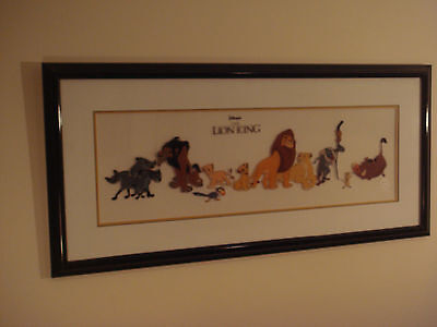 lion king cel Cast of Characters in Color