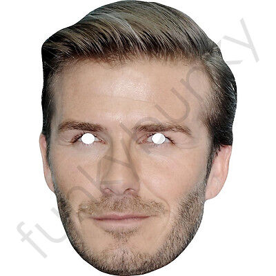 All Our Masks Are Pre-Cut Victoria Beckham Long Hair Celebrity Singer Card Mask