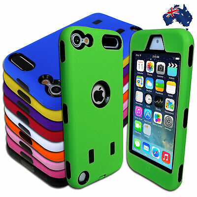 Tough Heavy Duty Case for Apple iPod Touch 5 5th Gen 5G Protective Cover