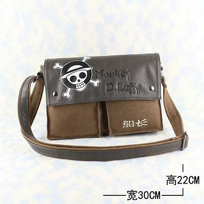 Anime One piece Monkey D.Luffy Shoulder/Messenger Bag Cosplay New