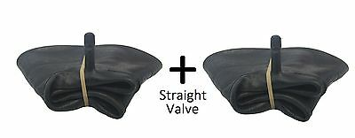 2 X Innertube ONLY STRAIGHT VALVE (4.10 /3.50 - 4) SACKTRUCK TROLLEY WHEELBARROW