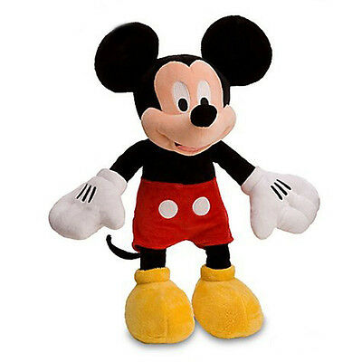 """Disney Mickey Mouse 10"""" Plush Doll Mickey Mouse and Friends NEW"""