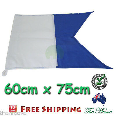 NEW Large Dive Boat Flag (alpha flag) 750X600mm Free Shipping From Sdyney