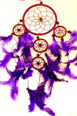 CAPTEUR DE REVE ATTRAPE ATTRAPEUR /DREAM CATCHER COUNTRY dreamcatcher VIOLET