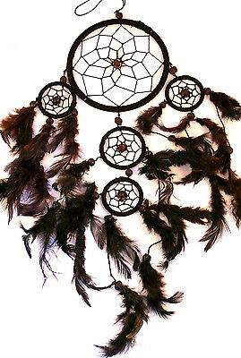 CAPTEUR DE REVE ATTRAPE ATTRAPEUR /DREAM CATCHER COUNTRY dreamcatcher NOIR