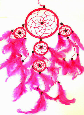 CAPTEUR DE REVE ATTRAPE ATTRAPEUR /DREAM CATCHER COUNTRY dreamcatcher ROSE