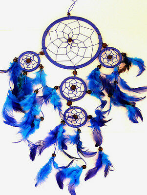 CAPTEUR DE REVE ATTRAPE ATTRAPEUR /DREAM CATCHER COUNTRY dreamcatcher BLEU