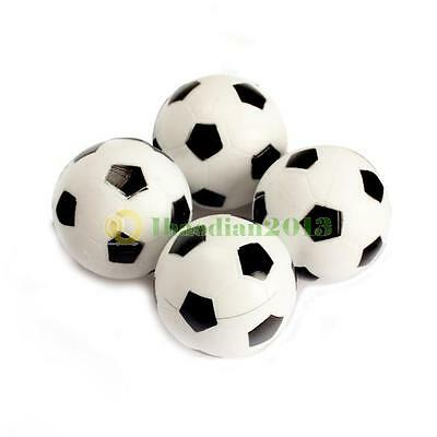 4pcs Black & White 35 mm Football /Foosball BALLS For Table Football new