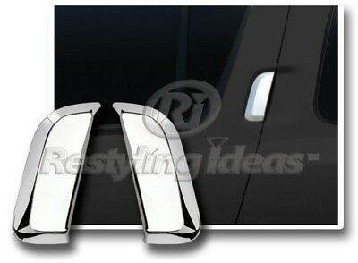 Chrome Rear Door Handle Covers (2 Pieces) for Nissan Pathfinder Armada