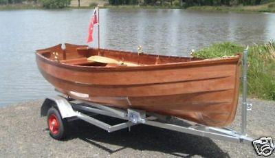 DIY Boat Building Plans for WINCHELSEA 10 Plywood Dinghy by STANLEY SmallCraft