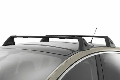 Genuine Peugeot 3008 Lockable Transverse Roof Bars - 9616X2