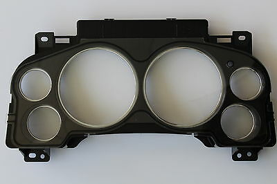 New 07-14 Instrument Cluster Clear Plastic Lens Mask Cover Complete Assembly