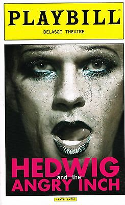 Hedwig and the Angry Inch FIRST PREVIEW Playbill Broadway Neil Patrick Harris