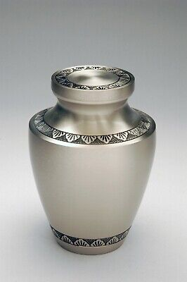 Contemporary Pewter Engraved Pet Brass Cremation Urns