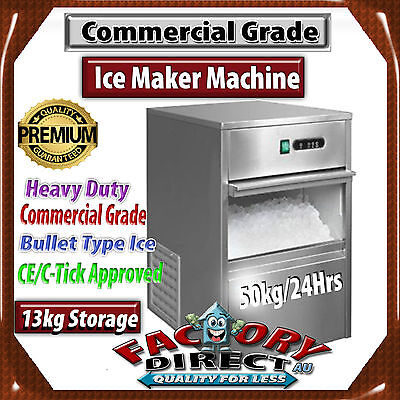 Brand New Commercial Ice Maker / Machine 50 To 65Kg/24 Hours Rrp:$1350