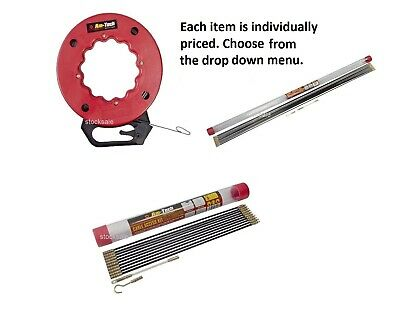 CABLE ACCESS KITS KIT ELECTRICIANS PUSH PULL RODS WIRE Fish Tape Cable Wire Rod