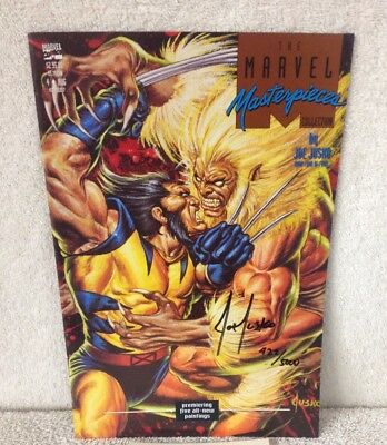 WOLVERINE The Marvel Masterpiece Collection #4 Signed by JOE JUSKO w/ COA