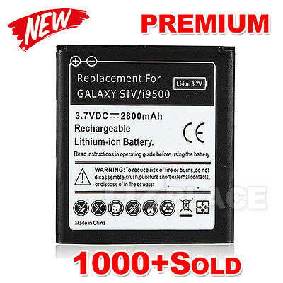 New Li-ion 2800mAh Replacement for Samsung Galaxy S4 Battery Backup i9500 i9505