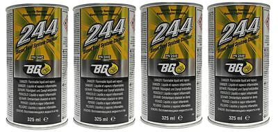 4 x GENUINE BG244 Fuel Injector & Engine Cleaner With Disposable Funnels