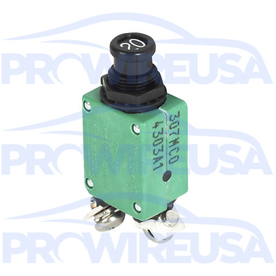 Klixon 2TC2-20 Circuit Breaker 20 Amp Aviation Mil Spec MS3320-20 Motec Nascar