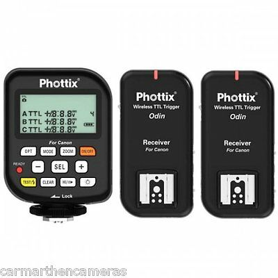 Phottix Odin TTL Flash Trigger Twin Pack for Canon