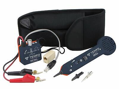 New Greenlee Professional 701K-G/6A Tone and Probe Tracing Kit w/ABN Test Clips