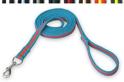 Gee Tac Horse Padded 8 Mt Multi Colour Lunge Line Lead Rope  Dog Lead Tracking