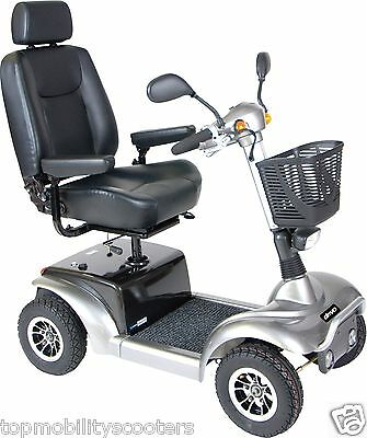 """PROWLER Electric Mobility Bariatric Fast 4-wheel Scooter Drive Medical 20"""" seat"""