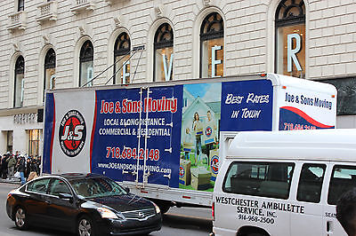Truck Wrap Design - 2 sides and back.