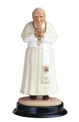 5 Inch Pope John Paul II Holy Collectible Statue Figurine Saint Religious Santo