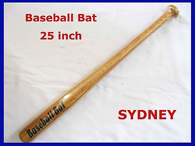 Brand New 25Inch Wooden Baseball Bat