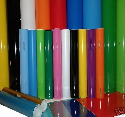 2M Roll Or A4 Self Adhesive Vinyl Sticky Back Plastic For Signmaking