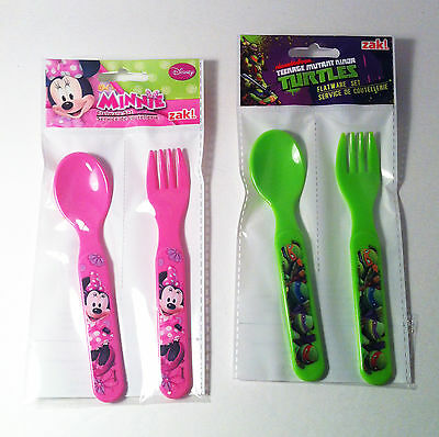 Childrens Flatware set fork and spoon