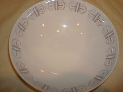 """Franciscan Whitestone Ware """"Merry-Go-Round"""" Pattern Oven Safe Serving Bowl Japan"""