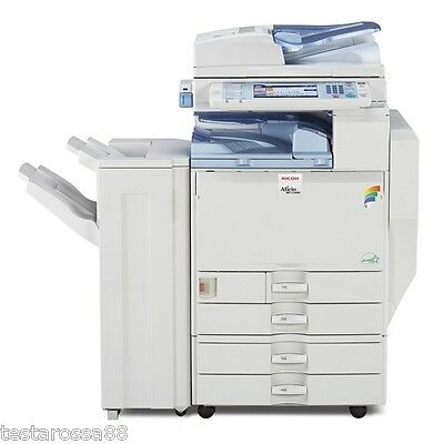 Ricoh MPC 5000 Colour Multifunction with Copy Scan Print & Optional Staple
