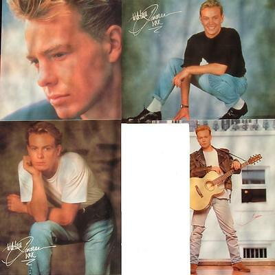JASON DONOVAN ORIGINAL POSTCARDS 8  x 10 EARLY YEARS 1989/90 4 TO CHOOSE FROM