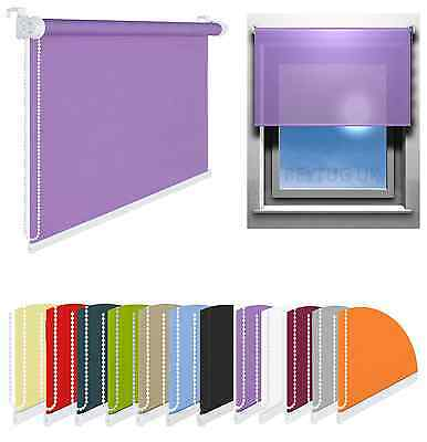 Quality Window Roller Blinds Choice of Width Sizes and Colours 175cm Length/Drop