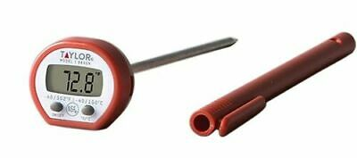 Taylor 9840 Digital Instant Read LCD Pocket Thermometer