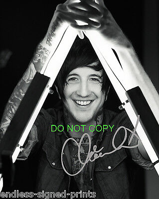 Austin Carlile from Of Mice and Men signed autographed reprint photo Restoring
