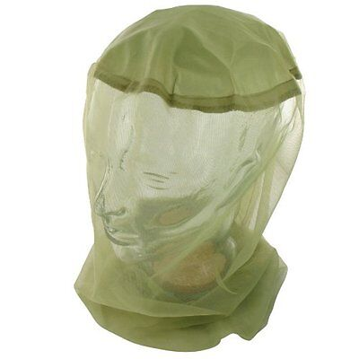 Highlander Mosquito/Midge Micro Head Net - Green - One Size
