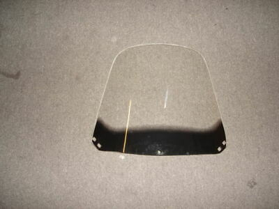 "TANK touring style WINDSHIELD for chinese SCOOTER ~19"" x 15""~ 150cc moped Roketa"
